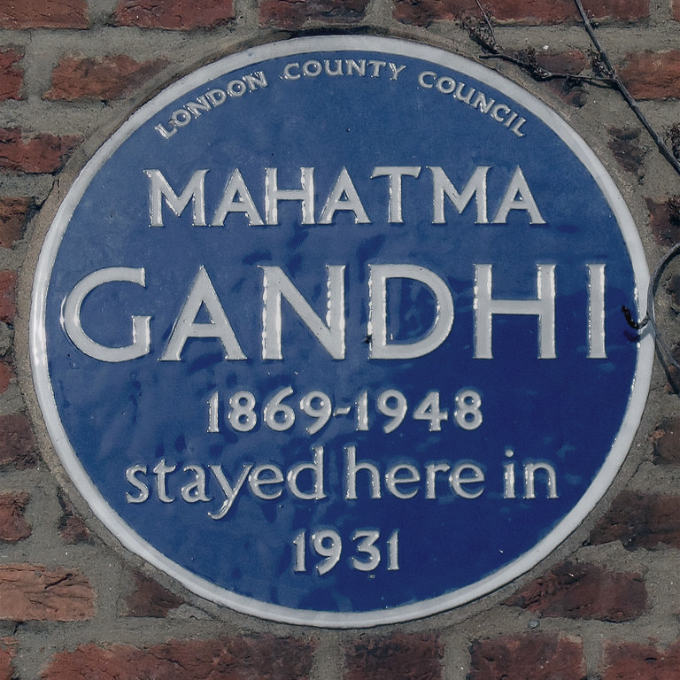 GANDHI AND THE BRITISH