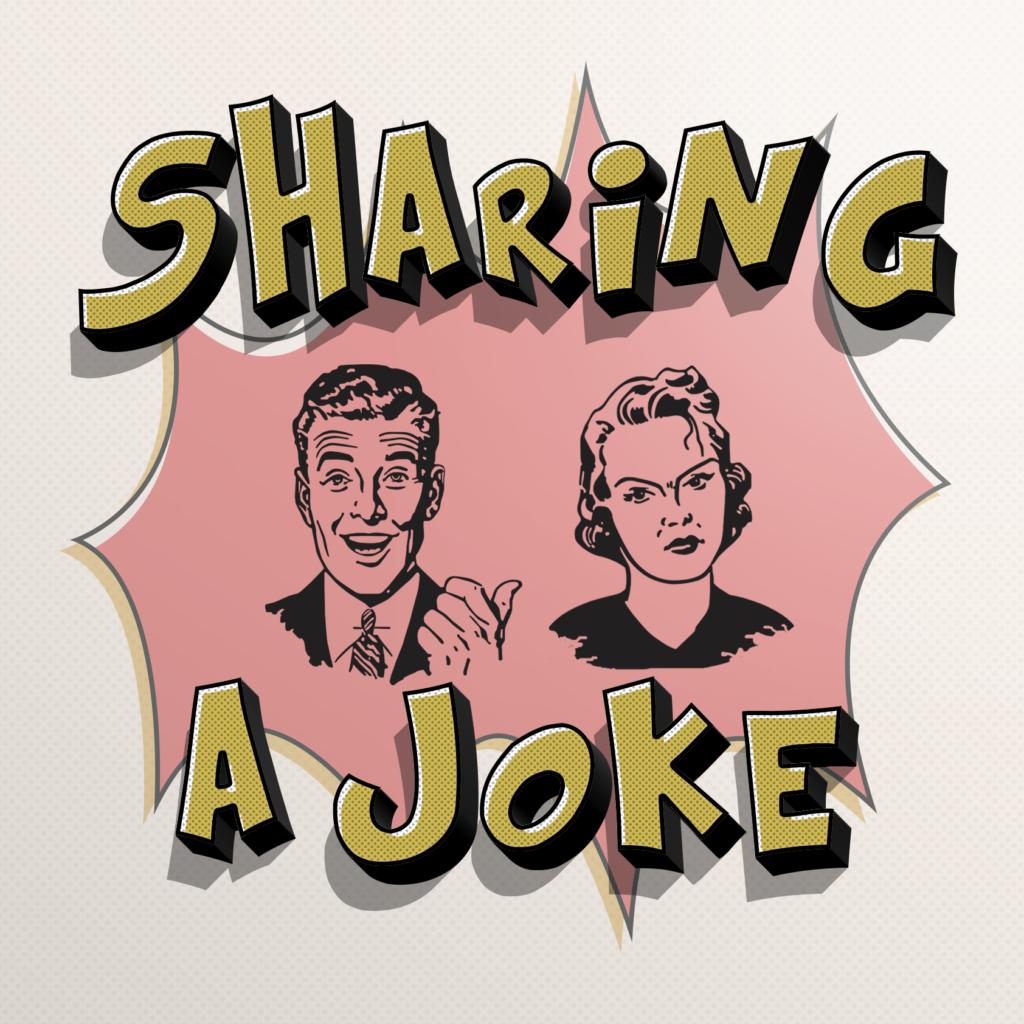 sharing a joke