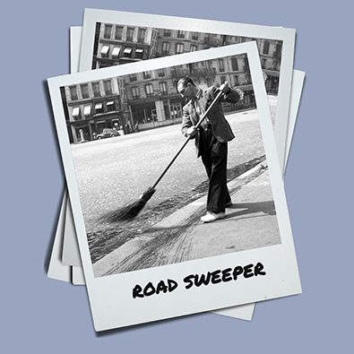 Better be a road sweeper <br>than a judge